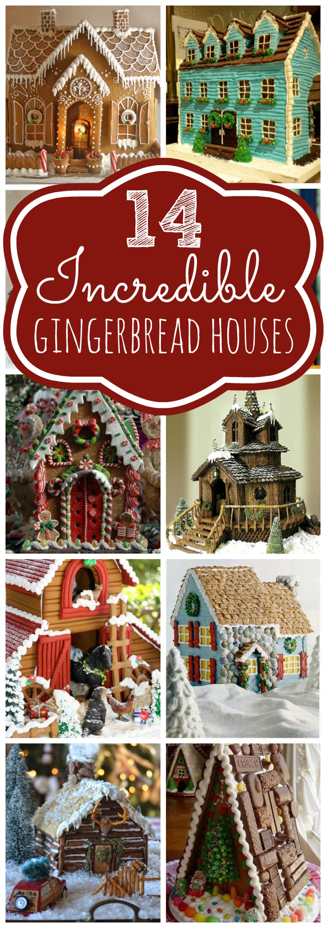 14 Incredible Gingerbread Houses
