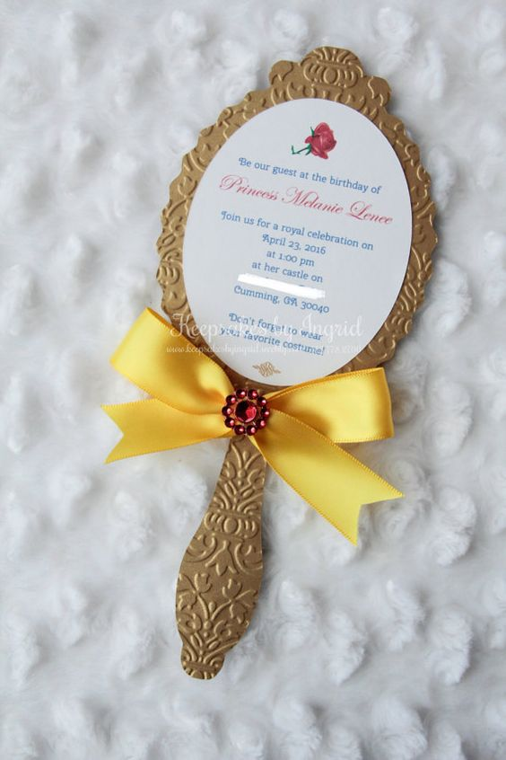 Beauty And The Beast Party Ideas Pretty My Party
