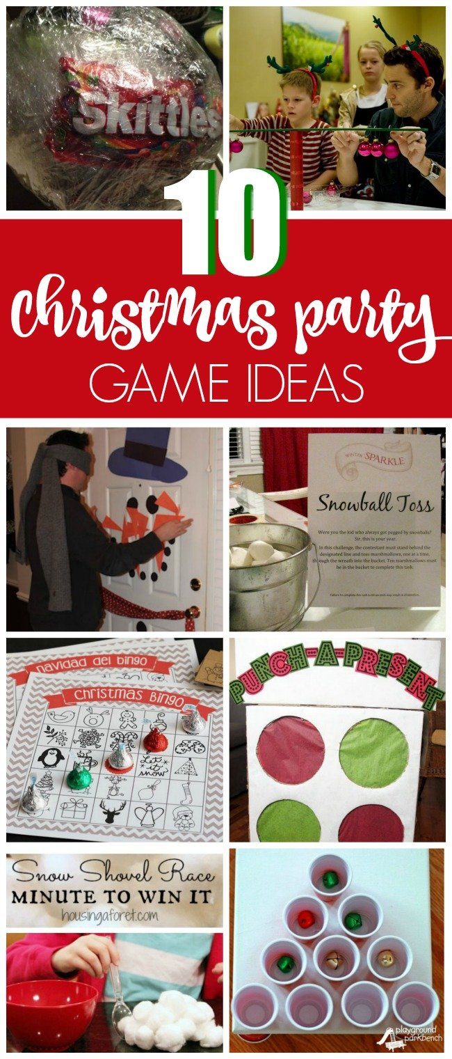 10 Christmas Party Game Ideas