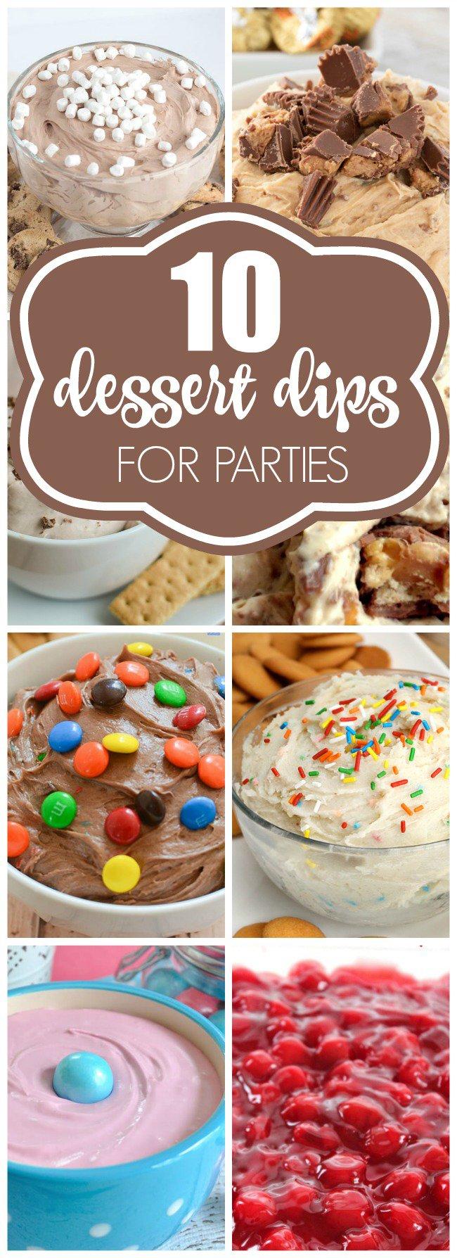 10 Sweet Dessert Dip Recipes