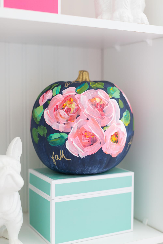 DIY Painted Pumpkin