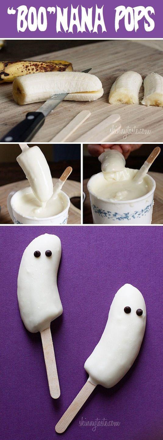 Frozen Boo-nana Pops