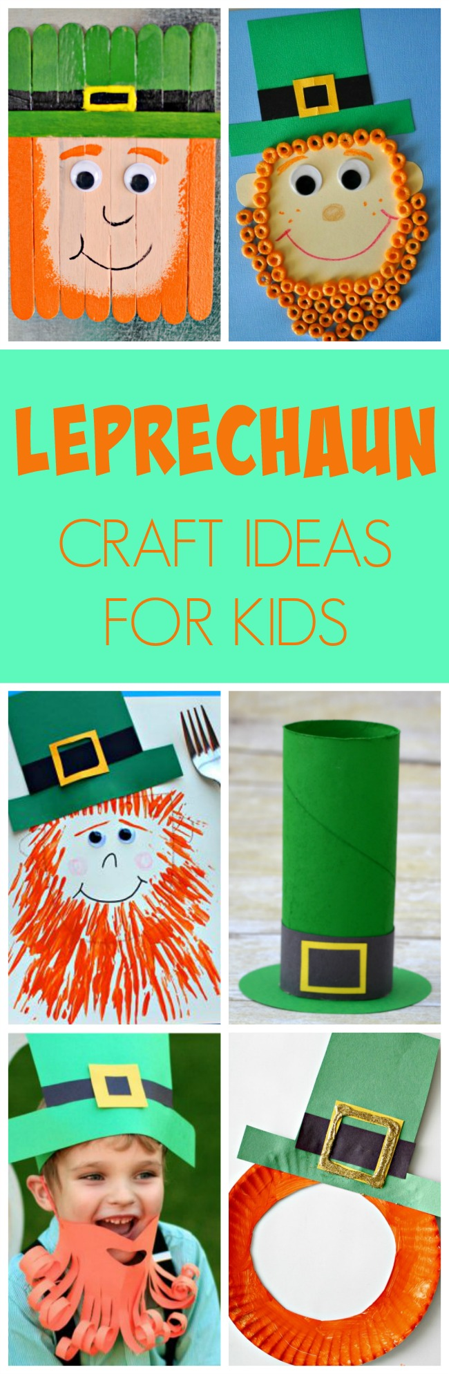 10 Adorable Leprechaun Craft Ideas