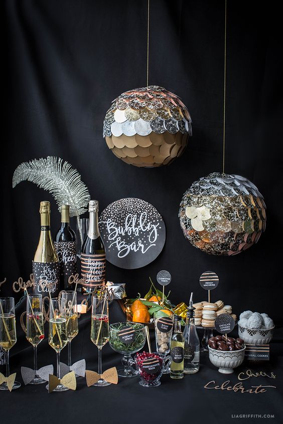 New Year's Eve Bubbly Bar
