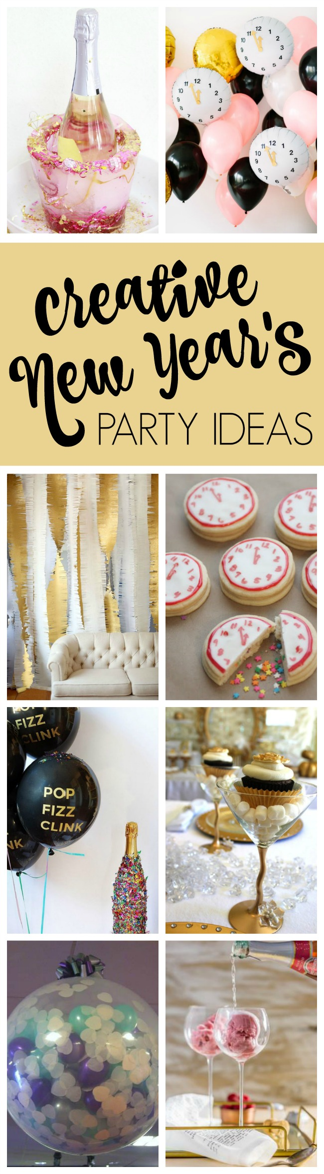 25 Best Ever New Year's Eve Party Ideas - Pretty My Party