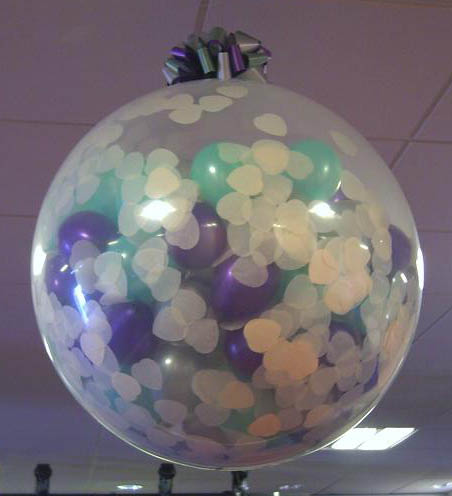 Large Confetti Balloon