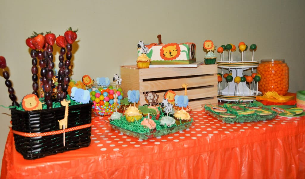 1st Birthday Party Decorations Jungle Image Inspiration Of Diy Theme Do It Your Self
