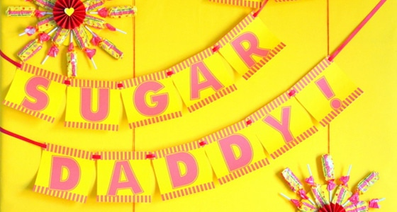 Sugar Daddy Father's Day Party