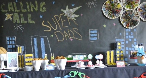 Super Dad Party