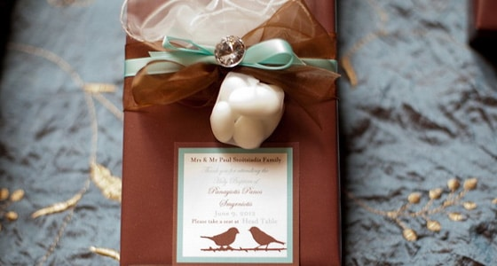 Robin's Egg Themed Baptism