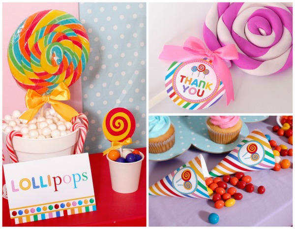 Colorful Candyland Birthday Party | Pretty My Party