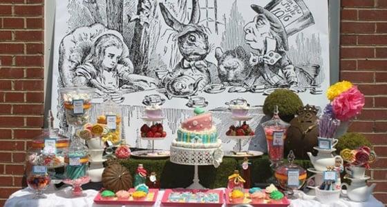 Alice In Wonderland Bridal Shower Pretty My Party