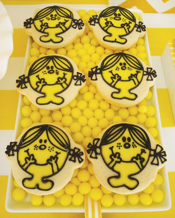 Little Miss Sunshine Party Cookies