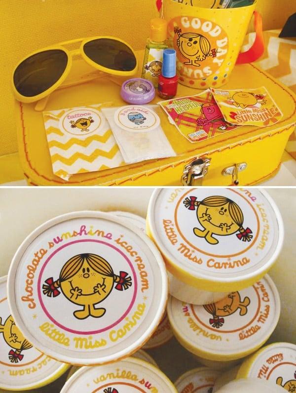 Little Miss Sunshine Party Ideas