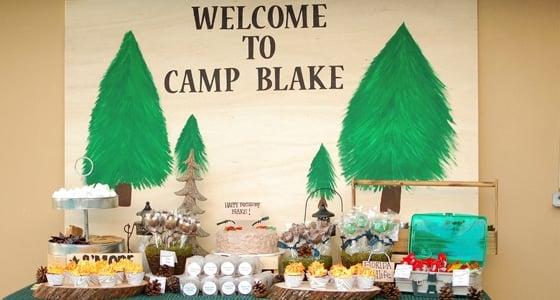 Camping Party: Camp Blake