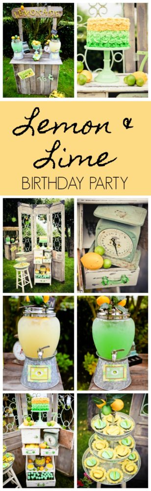Vintage Lemon and Lime Party featured on Pretty My Party