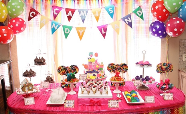 Candy Land Themed Birthday Party Pretty My Party