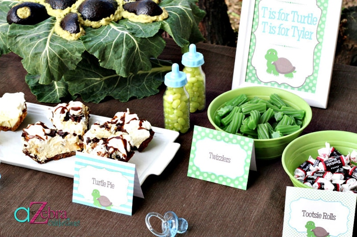 baby shower food ideas baby shower ideas turtle theme, Baby shower