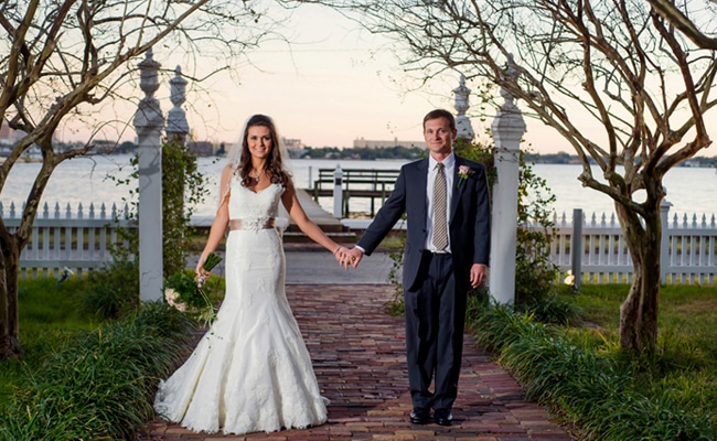 Beautiful Waterfront Wedding