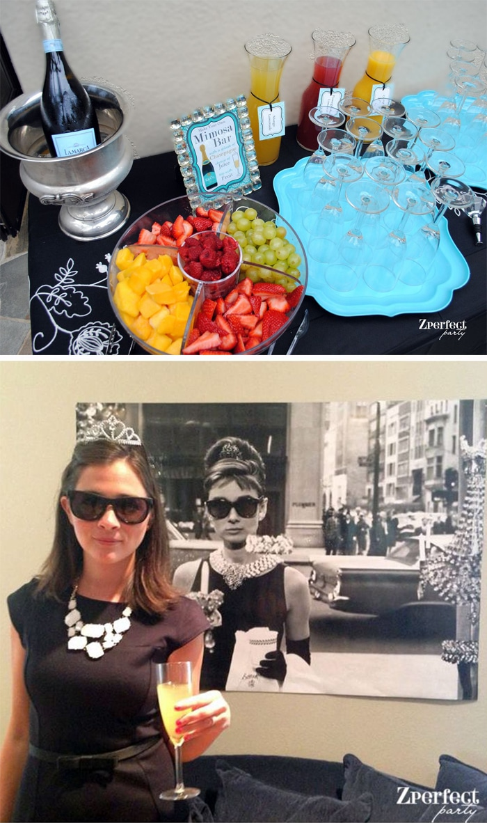 Breakfast At Tiffany S Themed Bridal Shower Pretty My Party
