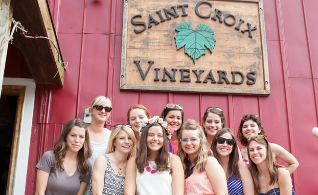 Laid Back Vineyard Bachelorette Bash