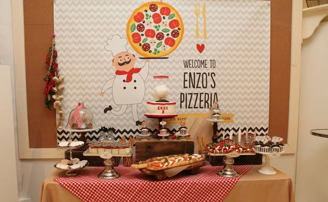 Mustache Pizza Party Pretty My Party