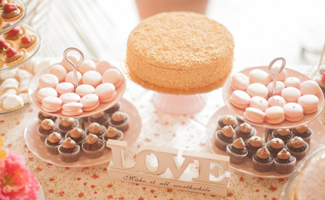 A Beautiful Pink & Grey Wedding