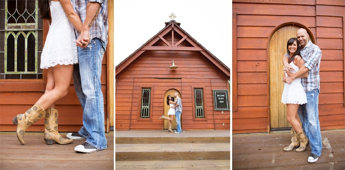 Wild West Themed Engagement Photo Ideas