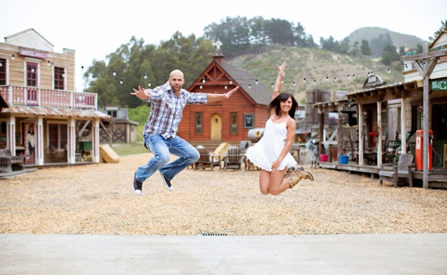 Wild West Themed Engagement