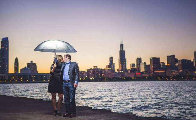 Fun Chicago Engagement Session