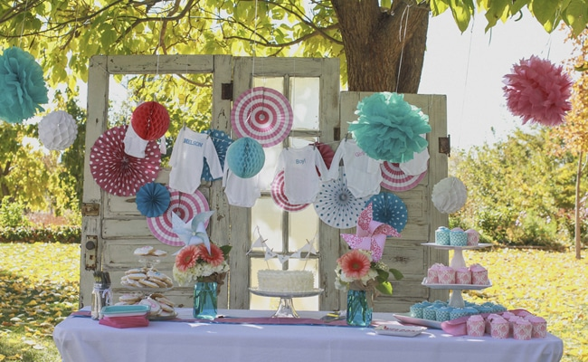Rustic Gender Reveal Pretty My Party
