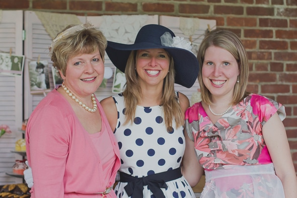 Tea Party Bridal Shower Outfits