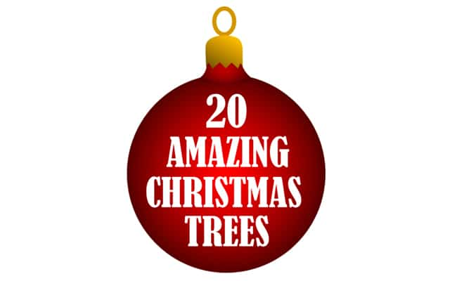 20 Amazing Christmas Trees