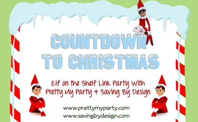 Countdown to Christmas: Elf on the Shelf Link Party