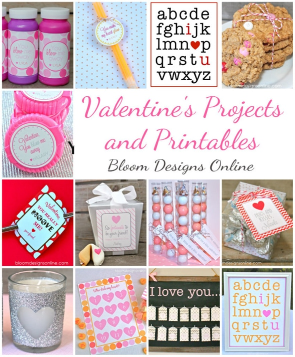 Bloom Designs Free Valentine's Ideas and Printables