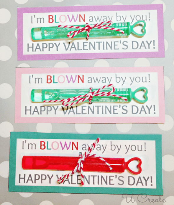 Bubble-Valentines free printables
