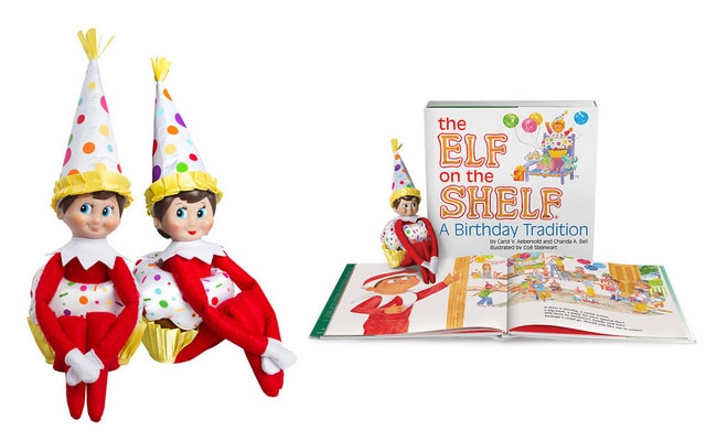 The Elf on the Shelf: A Birthday Tradition!