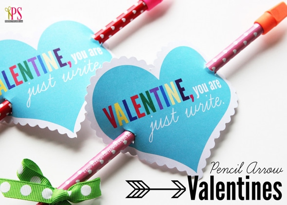 pencil-arrow-valentine printables