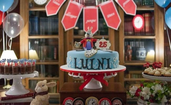 Alice in Wonderland 25th Birthday Party
