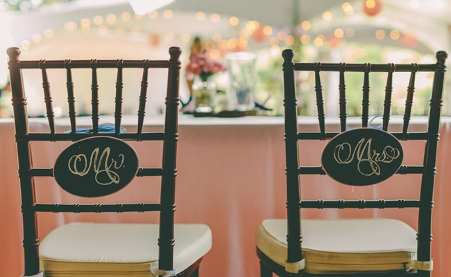 Romantic Shabby Chic Florida Wedding