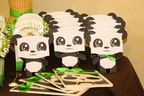 Panda Theme Party Cake Ideas And Designs