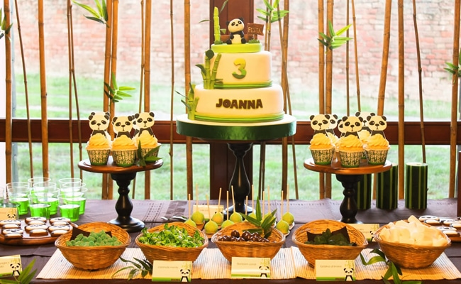 Adorable Panda Themed Birthday Party Pretty My