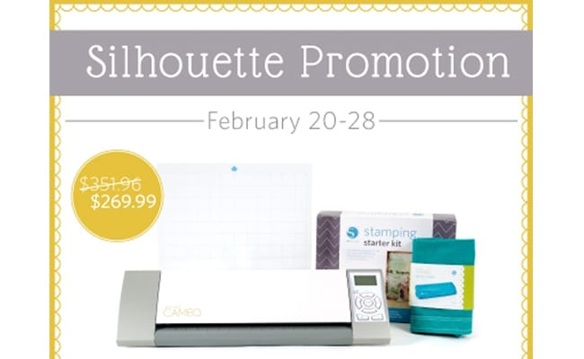 Silhouette Promotions Plus 20% Off