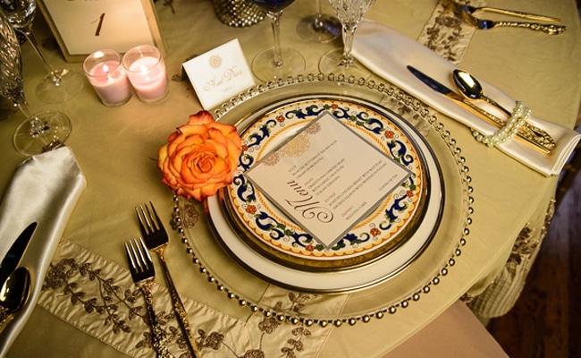 Spanish Romance Tablescape Ideas