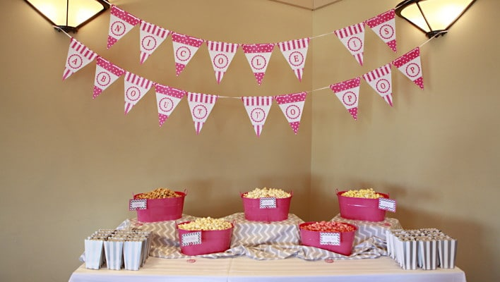 Expecting to POP Baby Shower Theme