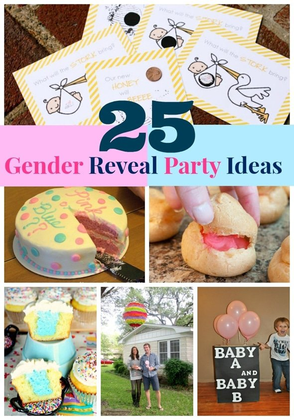 25 Gender Reveal Party Ideas | Pretty My Party