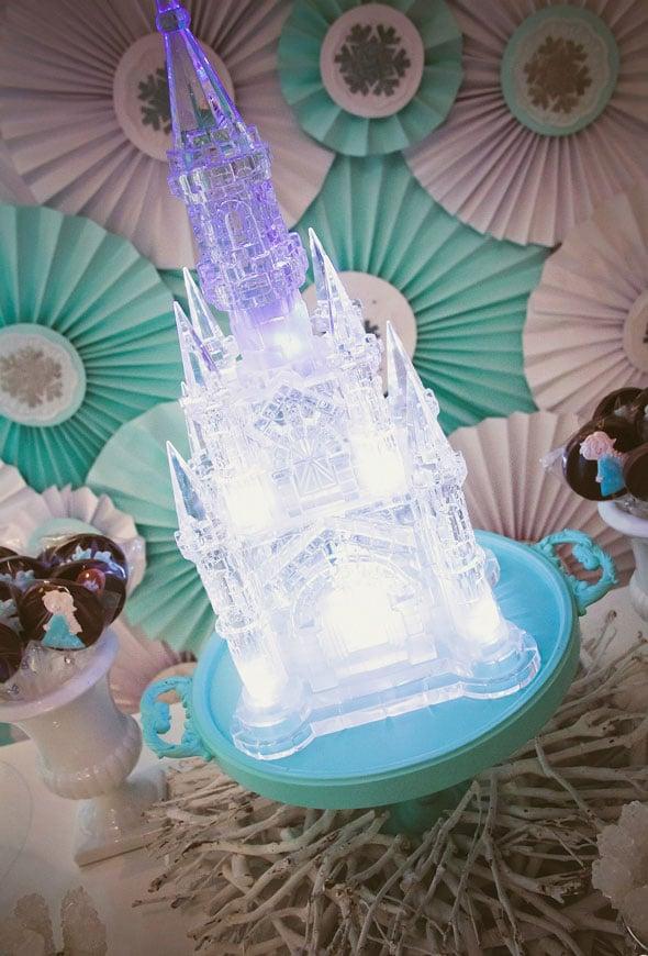 Frozen Ice Castle - Frozen Party Ideas