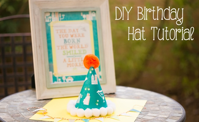 DIY Birthday Party Hat Tutorial