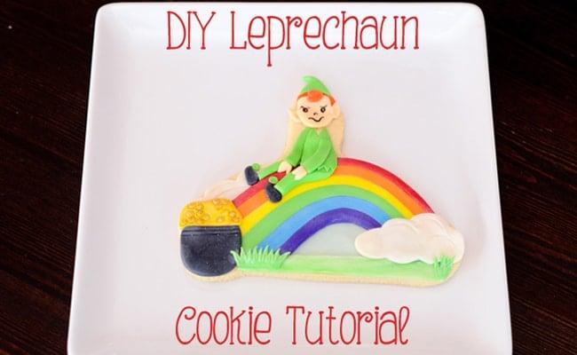DIY Leprechaun Cookie Tutorial