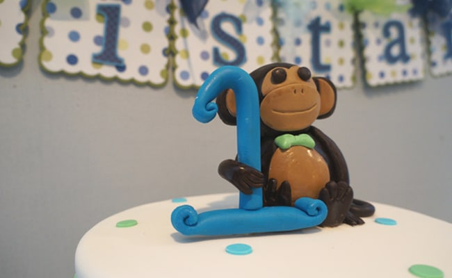 Monkey First Birthday Party